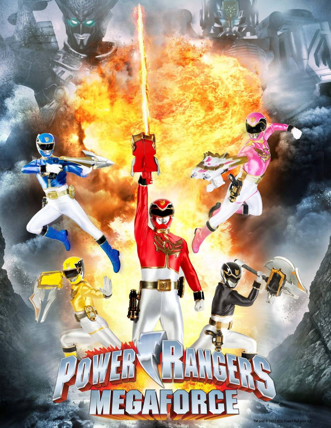 Power Rangers Megaforce 1 серия  Mega Mission (RUS, HD) [LightMedia] - смотреть онлайн