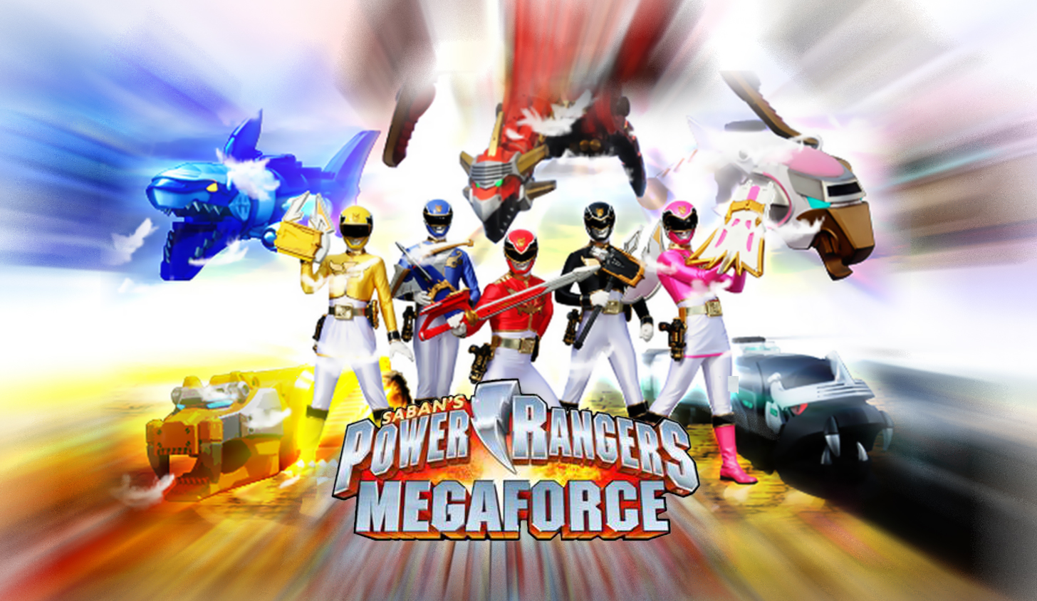 Power Rangers Megaforce 9 Серия, На Русском