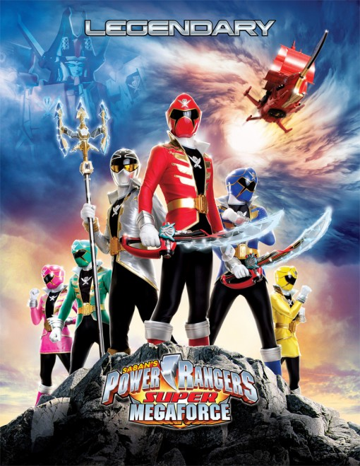 Power Rangers Super Megaforce 1 серия [ENG, HD]